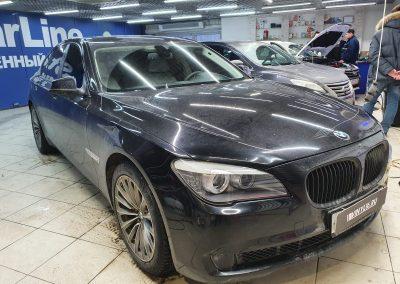 BMW 7 — тонировка боковых стекол пленкой Shadow Guard 95%