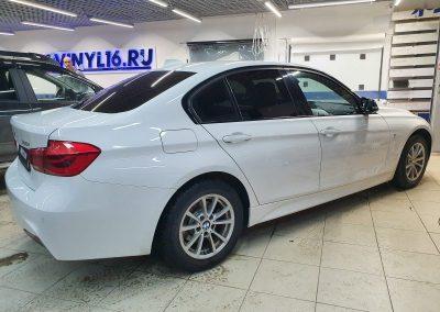 BMW 3 — тонировка боковых стекол пленкой Shadow Guard 50%