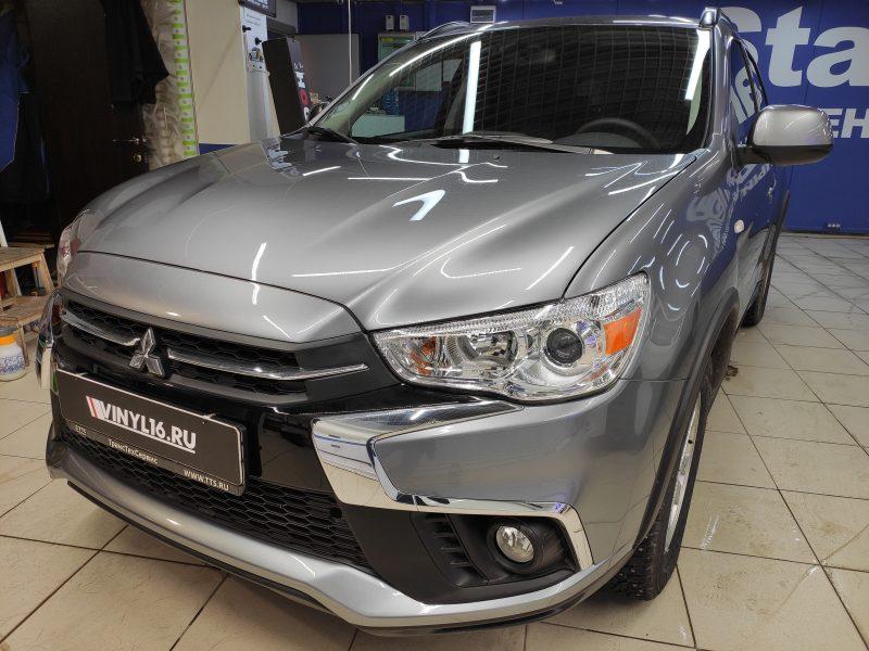 Полное бронирование кузова автомобиля Mitsubishi ASX полиуретановой пленкой Hogomaku