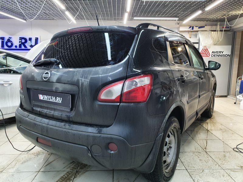 Nissan Qashqai — тонировка задней полусферы пленкой Carbon 95
