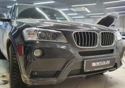 BMW X3 — тонировка боковых стекол Shadow Guard 50