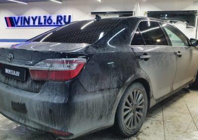 Тонировка стекол автомобиля Toyota Camry пленкой Shadow Guard 95%