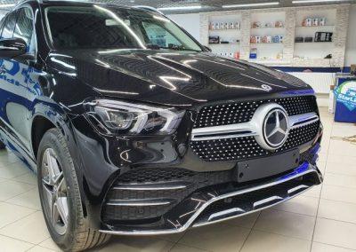 Mercedes GLE — тонировка задней части пленкой LLumar 95