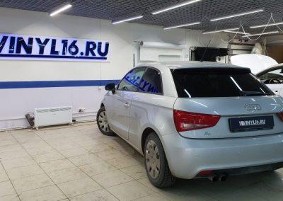 Audi A1 — тонировка задней части автомобиля пленкой UltraVision 95