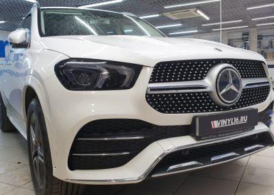 Mercedes GLE — комплексное бронирование кузова автомобиля полиуретановой пленкой