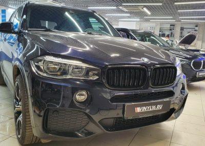 BMW X5 — тонировка лобового стекла и боковых стекол атермальной пленкой