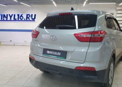 Hyundai Creta — тонировка стекол пленкой Shadow Guard, задняя часть 95%, боковые 50%
