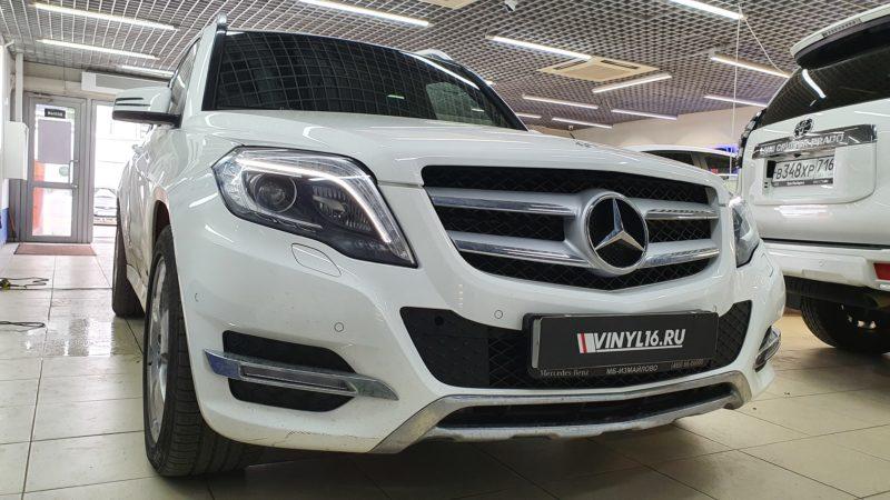 Mercedes GLK — тонировка задней части автомобиля пленкой LLumar 95%