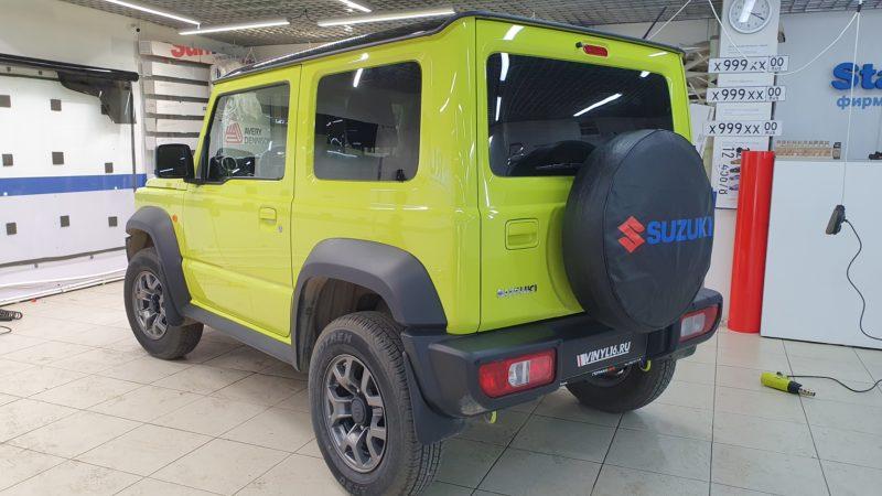 Suzuki Jimmy — тонировка задней части Shadow Guard 80