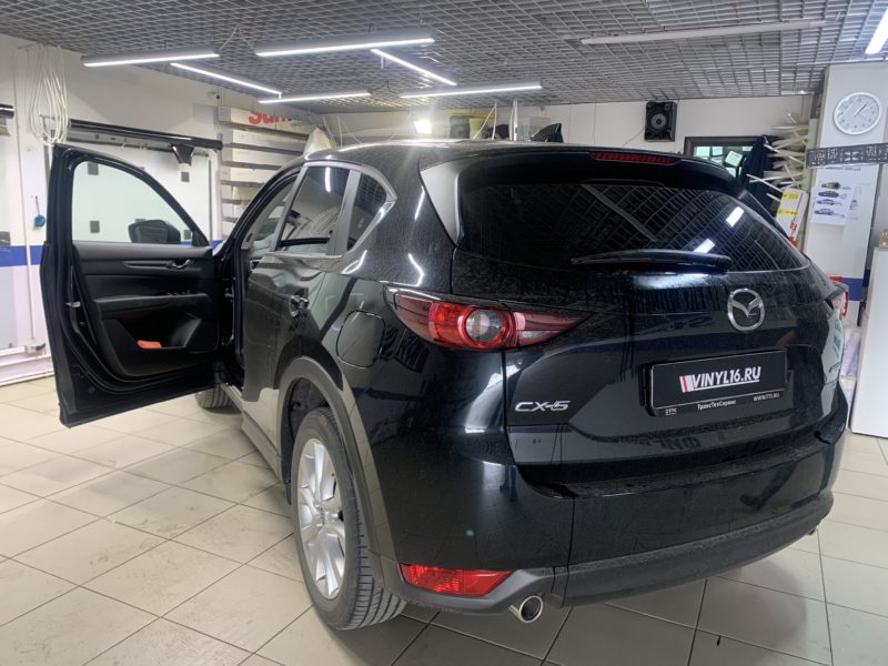 Тонировка пленкой Shadow Guard стекол автомобиля Mazda CX5