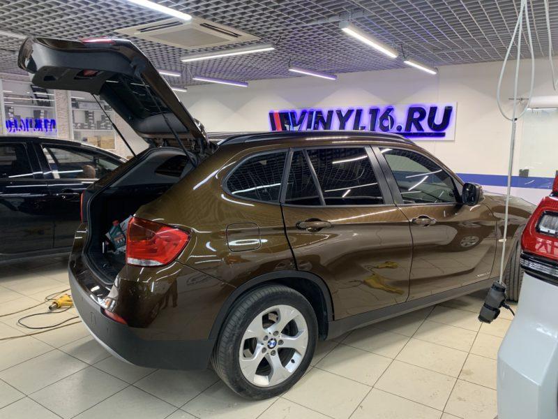 Ремонт вмятин без покраски на автомобиле BMW X1