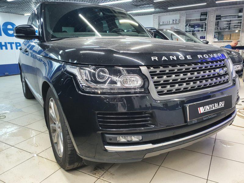 Range Rover — тонировка боковых стекол пленкой Shadow Guard 50%