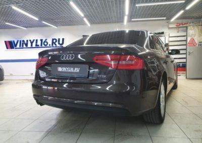 Audi A4 — тонировка задней части пленкой LLumar 95%