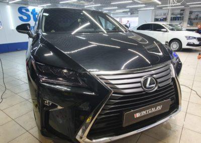 Lexus RX300 — бронирование фар автомобиля пленкой STEK