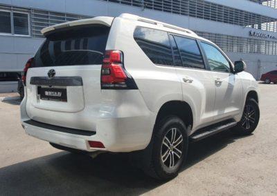 Toyota Land Cruiser Prado — комплексное бронирование полиуретановой пленкой