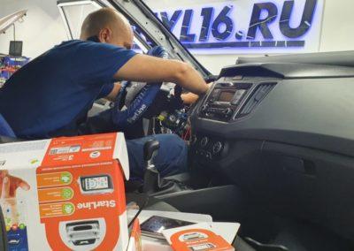 Hyundai Creta — тонировка задней части пленкой Shadow Guard 95 и установка сигнализации StarLine A93
