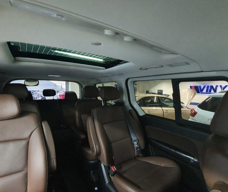 Hyundai Starex — тонировка задней части автомобиля пленкой Shadow Guard 95