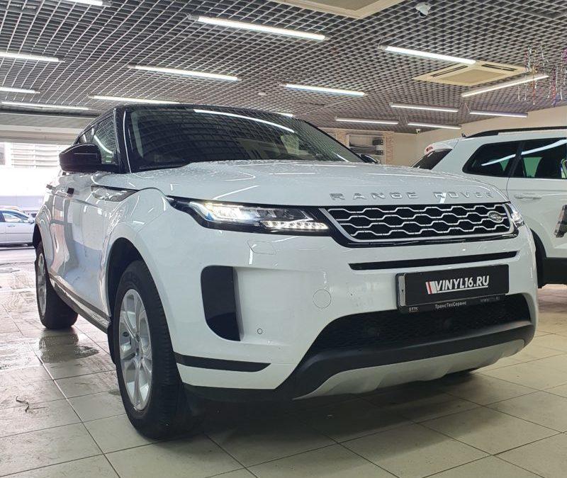 Range Rover Evoque — тонировка стекол автомобиля пленкой Llumar