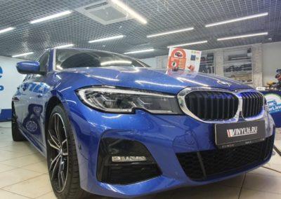 Установка автосигнализации StarLine S96 на автомобиль BMW 3 серии