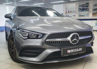 Mercedes CLA 200 — бронирование фар автомобиля