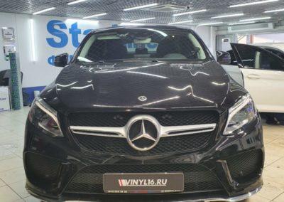 Mercedes GLE — тонировка задних и боковых стекол пленкой LLumar