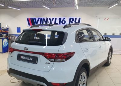 Комплексное бронирование кузова автомобиля Kia Rio X Line пленкой ПВХ