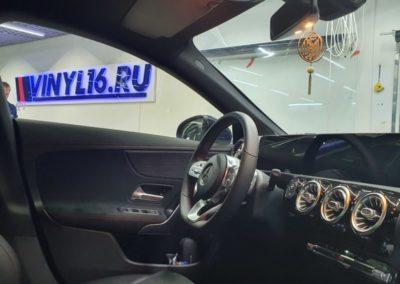 Тонировка боковых стекол Mercedes CLA 200 пленкой LLumar 50%