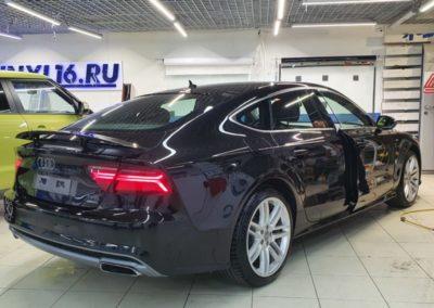 Audi A7 — выполнили растонировку и антихром автомобиля