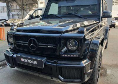 Ремонт вмятин без покраски на кузове автомобиля Мерседес G-класс