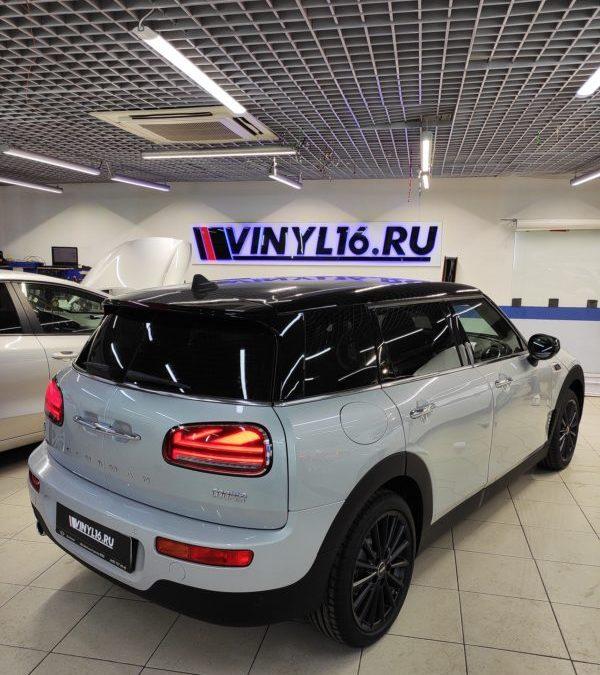 Тонировка стекол автомобиля Mini Cooper Clubman пленкой Clubman
