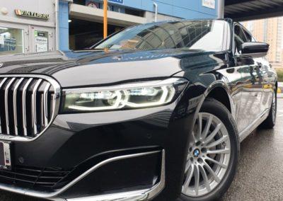 BMW 7 серии — полное бронирование кузова полиуретановой пленкой DeltaSkin