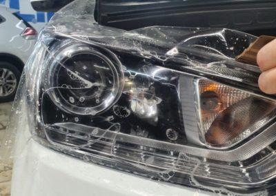 Hyundai Creta — бронирование фар и лобового стекла