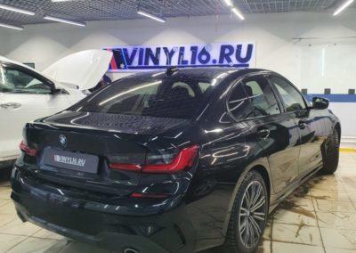 BMW 3 серии — тонировка задних luxman 50%, боковых стекол пленкой luxman 30%