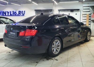 Тонировка стекол автомобиля BMW 520D