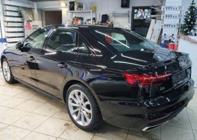 Комплексное бронирование кузова нового автомобиля Audi A4