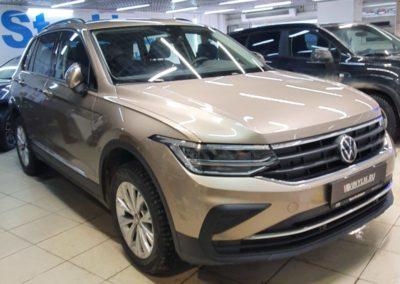 Новый Volkswagen Tiguan — бронирование кузова гибридной пленкой