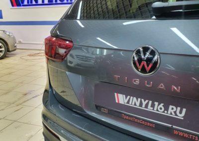 Новый VW Tiguan 2021 — частичное бронирование кузова полиуретановой пленкой