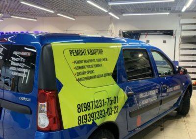 Лада Largus — брендирование автомобиля