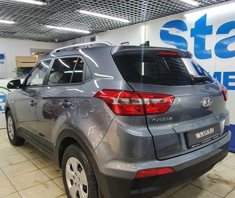 Hyundai Creta — тонировка стекол пленкой LLumar 95%