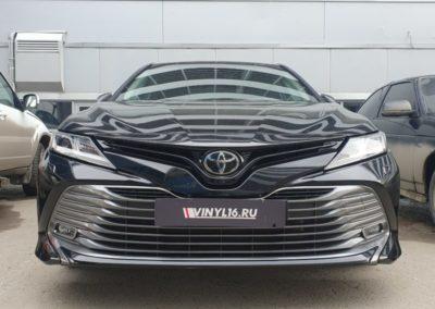 Комплексное бронирование кузова автомобиля Toyota Camry, бронирование всех 4 дверей