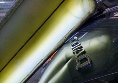 Skoda Kodiaq — ремонт вмятин на крышке багажника
