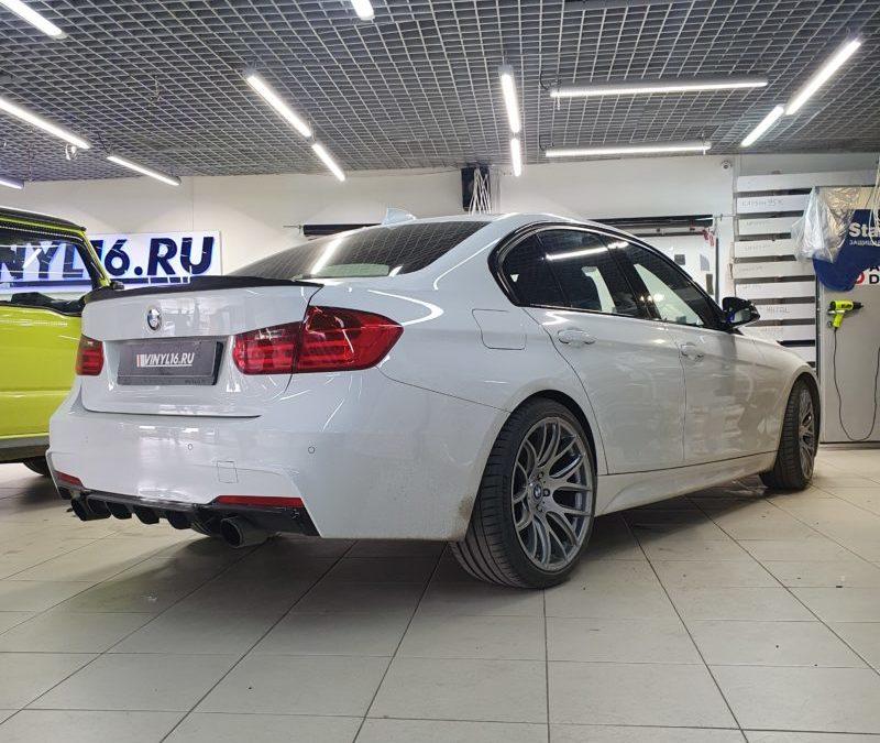 BMW 3 серии — тонировка стекол атермальной пленкой 3M