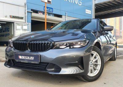 BMW 3 серии — комплексное бронирование полиуретановой пленкой