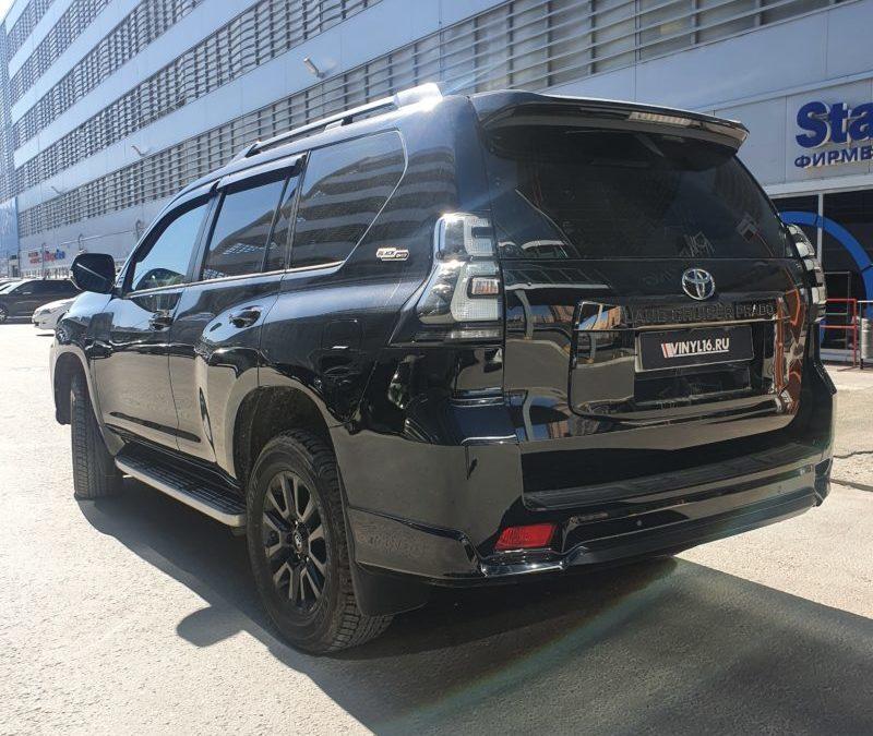Toyota Prado — комплексное бронирование кузова полиуретановой пленкой