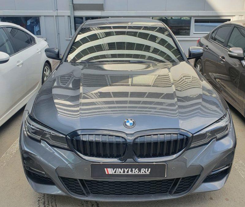 Тонировка всех стекол автомобиля BMW 3 пленкой LLumar 50
