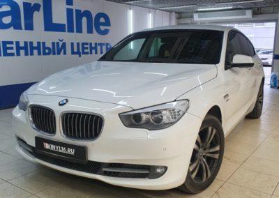 BMW GT — антихром молдингов вокруг окон