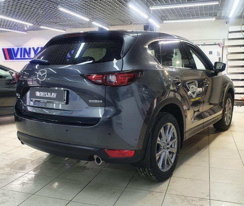 Mazda CX-5 — комплексное бронирование полиуретановой пленкой, антихром