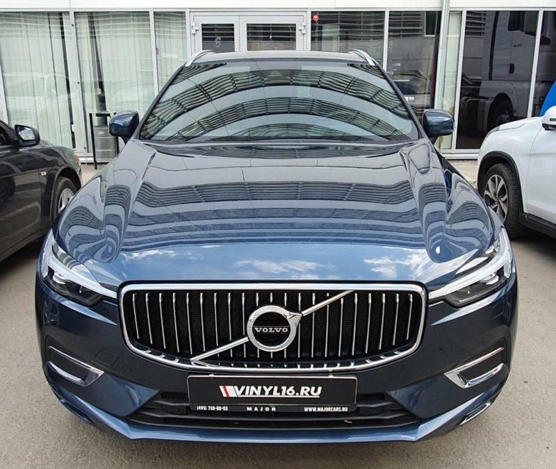Volvo XC60 — комплексное бронирование автомобиля полиуретановой пленкой