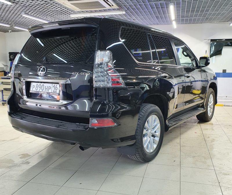 Lexus GX460 — тонировка стекол автомобиля пленкой Llumar