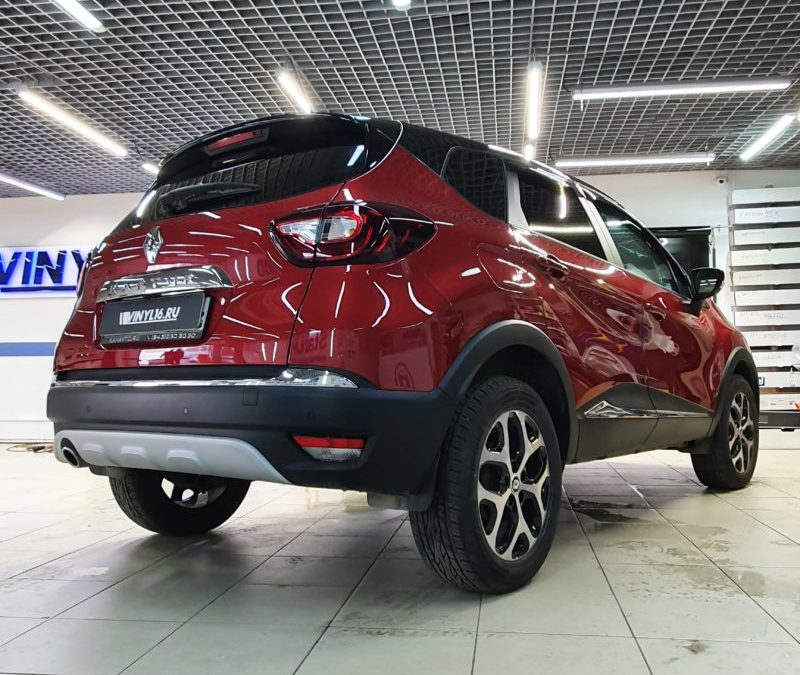 Renault Kaptur — тонировка стекол автомобиля премиальной пленкой LLumar 95%